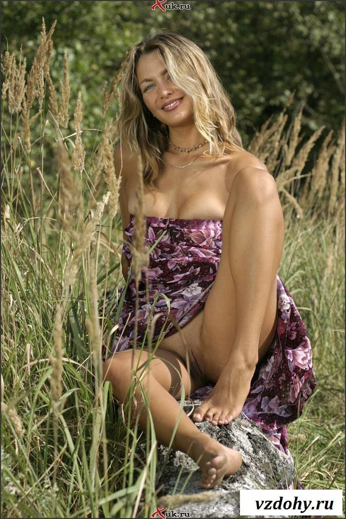 Секс фото в сарафане