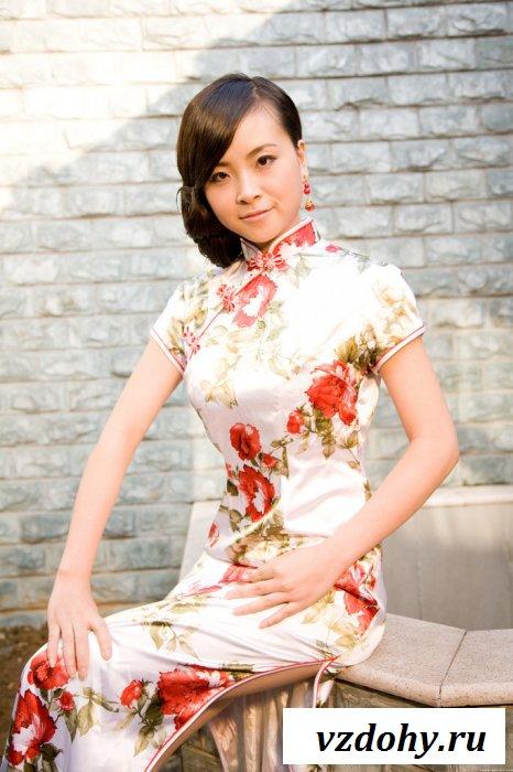 Раздели знакомую китаянку до сисек