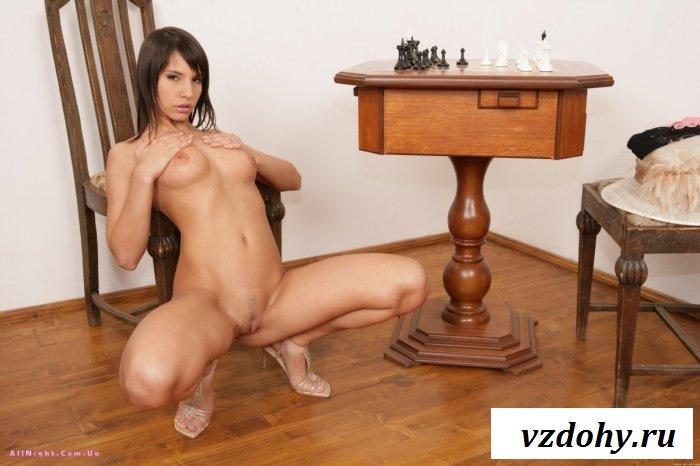 Шахматистка стала эротической моделью (20 фотографий)