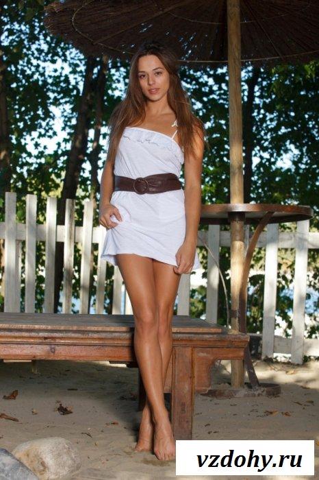Шикарная актриса в одном платье