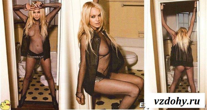 Линдси Лохан и её эротические снимки