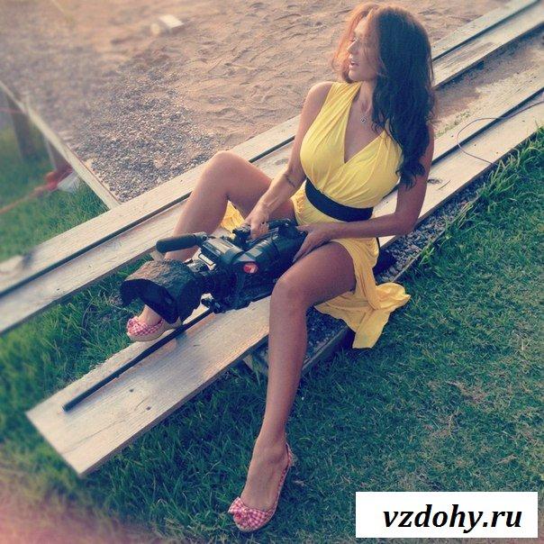 Отдых роскошной загорелой Алены Водонаевой
