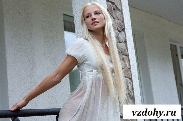 Искушение от ненасытной блондинки