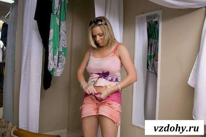 Эротика тетки с серьгами в клиторе (34 фото)
